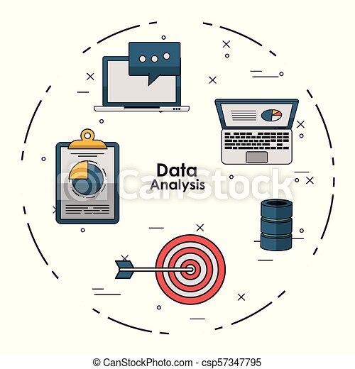 Data analysis concept - csp57347795