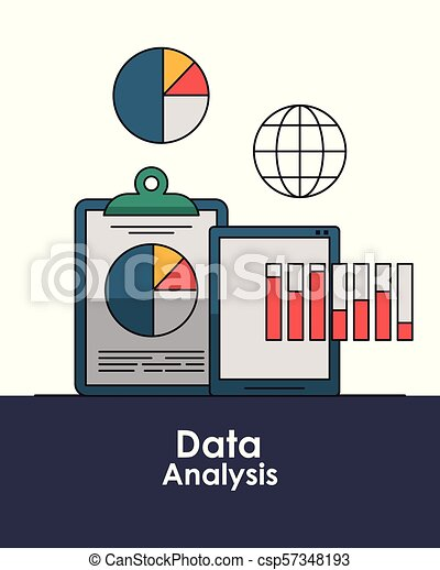 Data analysis concept - csp57348193