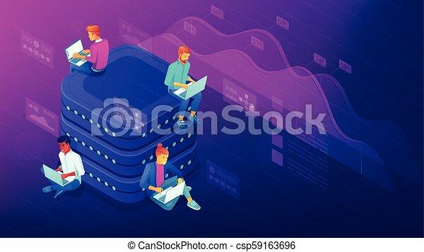 Data analysis concept - csp59163696