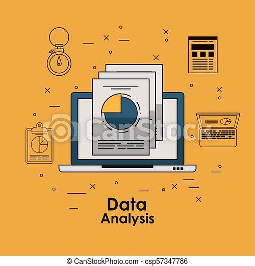 Data analysis concept - csp57347786