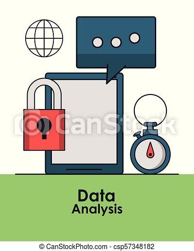 Data analysis concept - csp57348182
