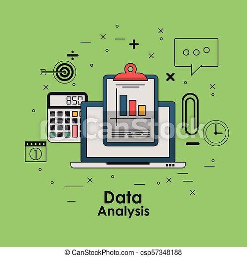 Data analysis concept - csp57348188