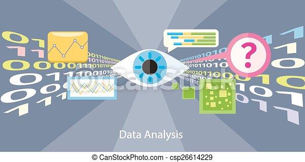 Data analysis concept - csp26614229