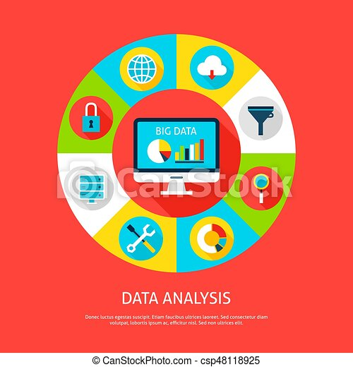 Data Analysis Concept - csp48118925