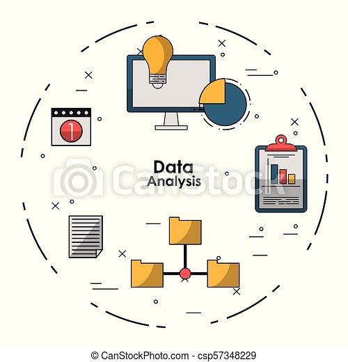 Data analysis concept - csp57348229