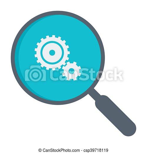 Data analysis concept - csp39718119