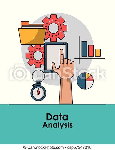 Data analysis concept - csp57347818