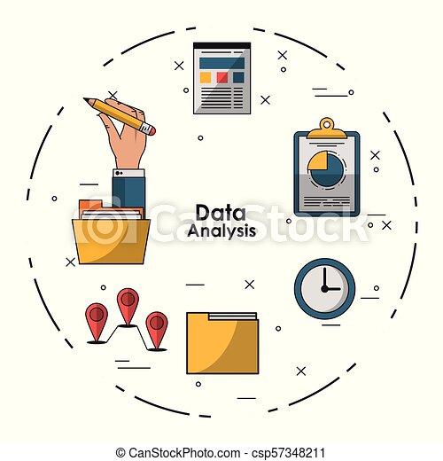 Data analysis concept - csp57348211