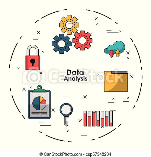 Data analysis concept - csp57348204
