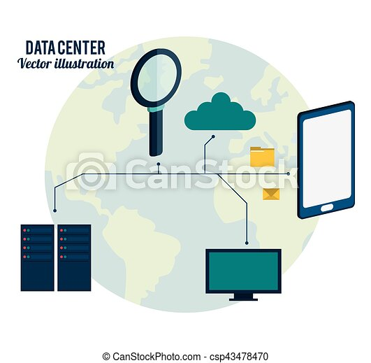 data center connection hardware network - csp43478470