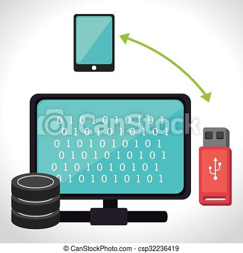 Data center security system  - csp32236419