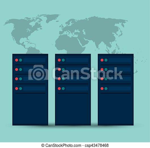 data center server device technology - csp43478468