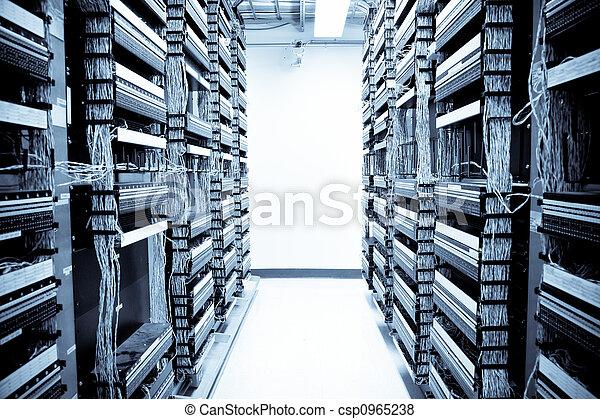 data, netværk, centrum - csp0965238