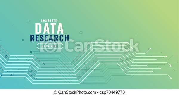 data research background with circuit diagram - csp70449770
