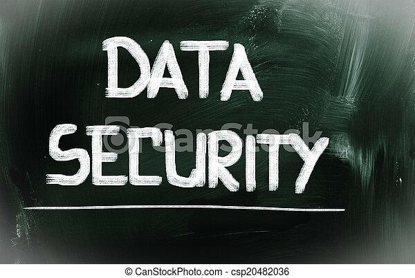 Data Security Concept - csp20482036