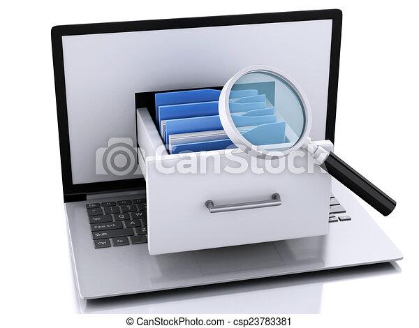 Line Art Laptop : Computer laptop tablet and smartphone illustration design