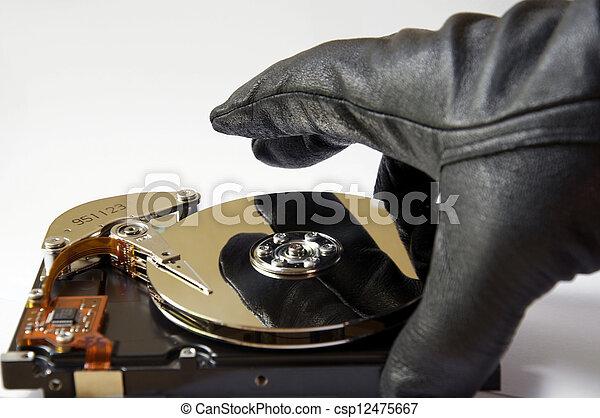 Data Theft - csp12475667