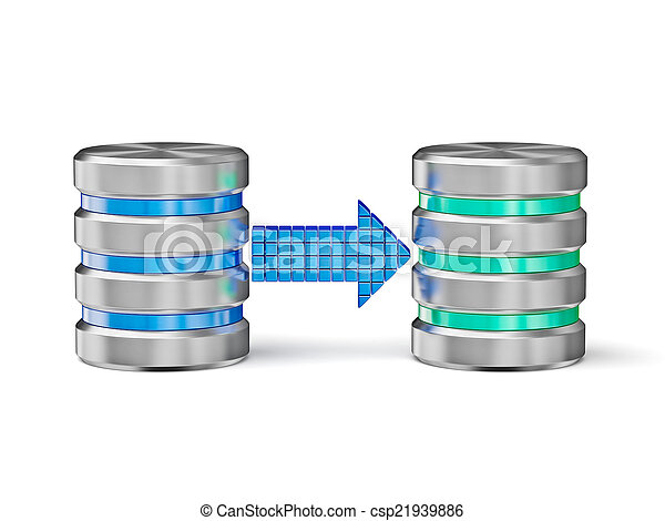 Database backup concept - csp21939886
