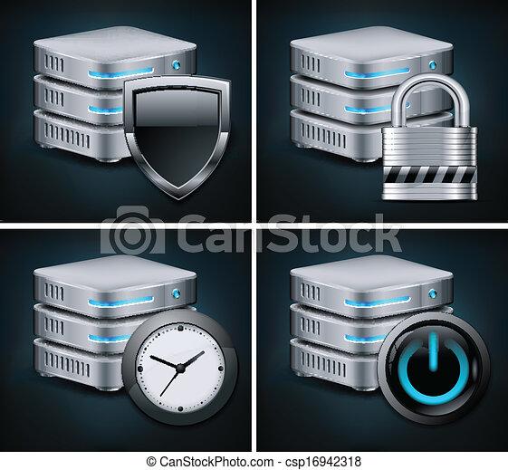 Database icons - csp16942318