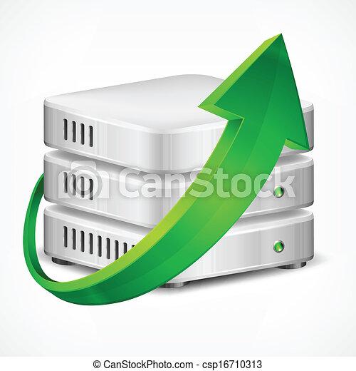 Database with arrow - csp16710313