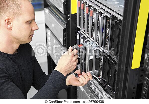 datacenter, יועץ, להב, זה, שרת, התקן - csp26790436