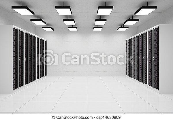 datacenter, copyspace - csp14630909