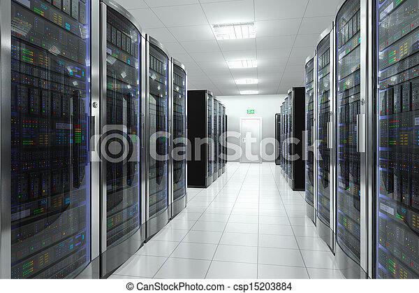 datacenter, habitación, servidor - csp15203884