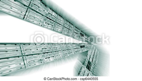 Binärer Datenfluss - csp6440555
