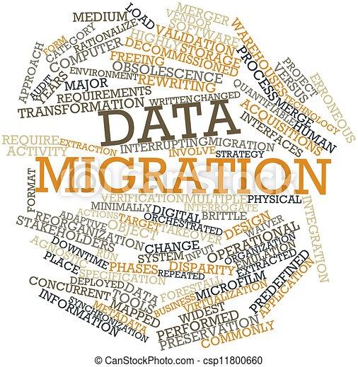 dati, migrazione - csp11800660