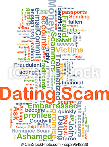 dating spam e-poster