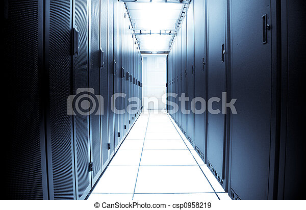 Centro de datos de la computadora - csp0958219