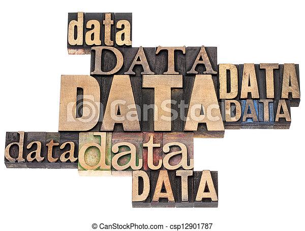 datos, resumen, palabra - csp12901787