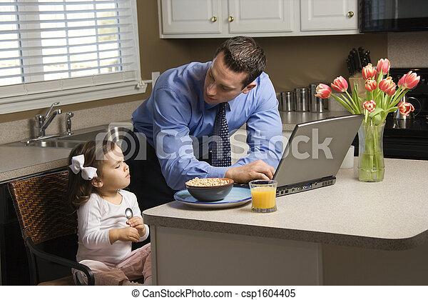 daughter., 父 - csp1604405