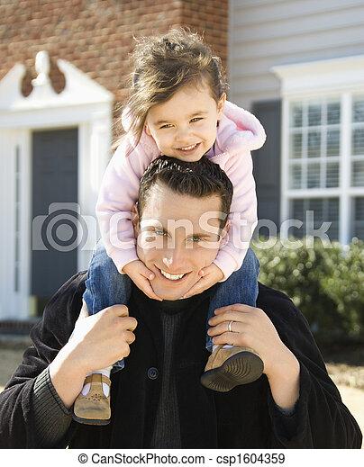 daughter., 父 - csp1604359