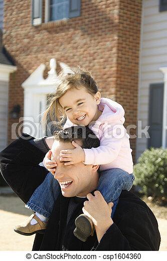 daughter., 父 - csp1604360
