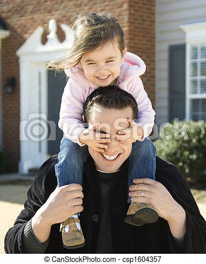 daughter., 父 - csp1604357