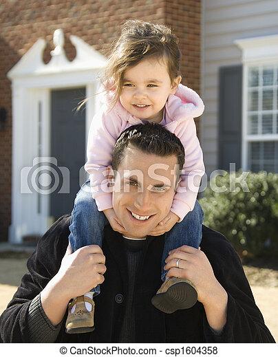 daughter., 父 - csp1604358