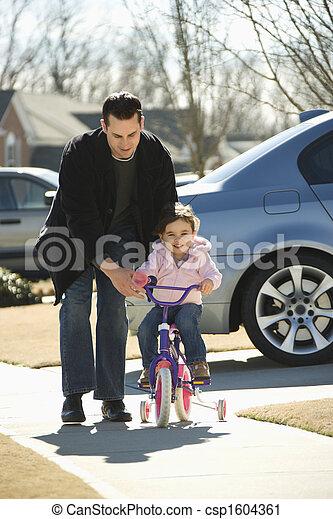 daughter., 父 - csp1604361