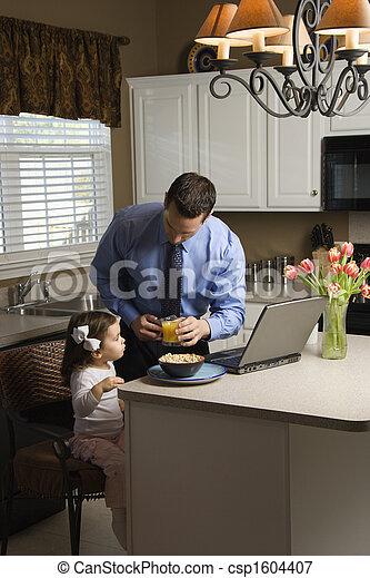 daughter., 父 - csp1604407