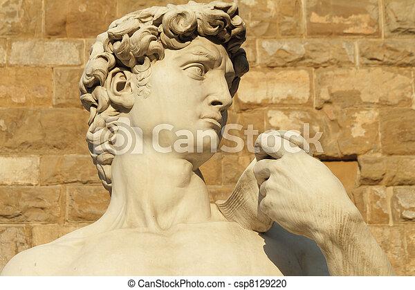 David de Florencia - csp8129220