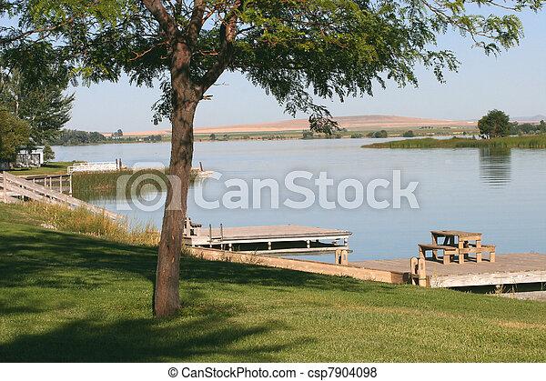 Day at the Lake - csp7904098