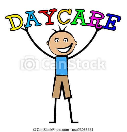day care represents childrens club and children s day care stock rh canstockphoto com daycare clipart pictures daycare clipart black and white