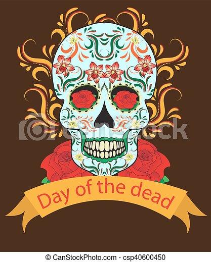 Day of the dead a mexican festival dia de los muertos greeting day of the dead a mexican festival dia de los muertos greeting card flyer poster day of the m4hsunfo