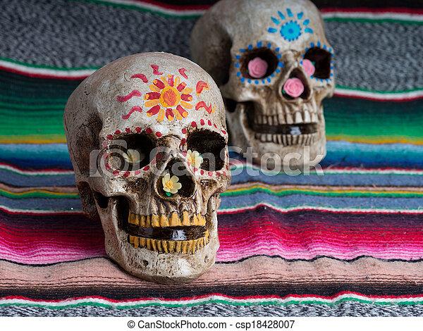 day of the dead skulls day of the dead dia de los muertos