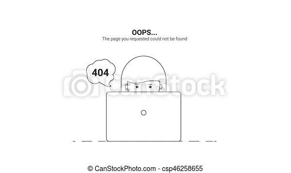 Day web master. Oops Error 404 - csp46258655
