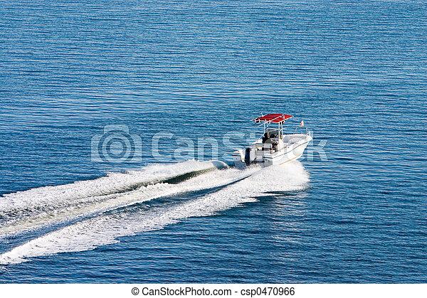 day2, calme, bateau - csp0470966