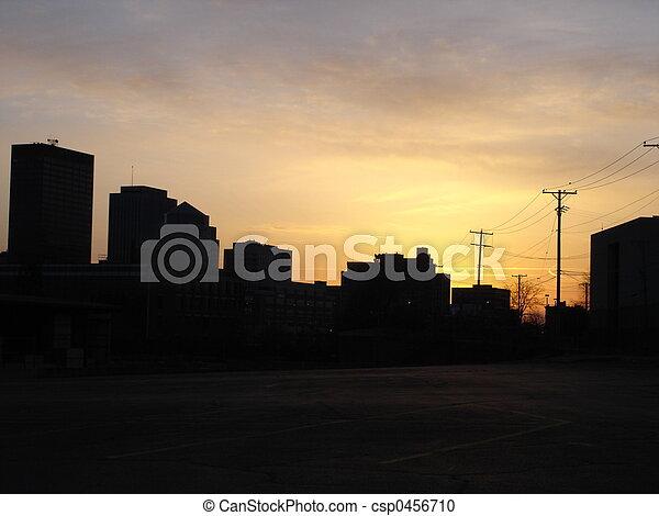 Dayton Sunset - csp0456710