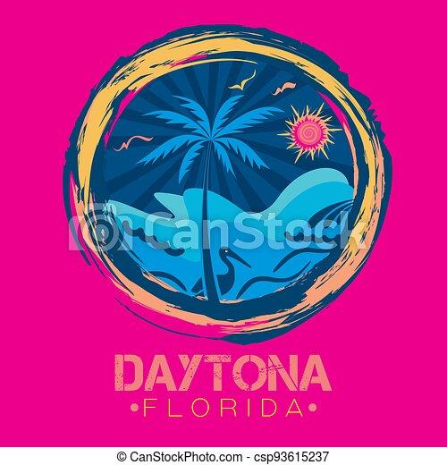 Daytona beach Florida - csp93615237