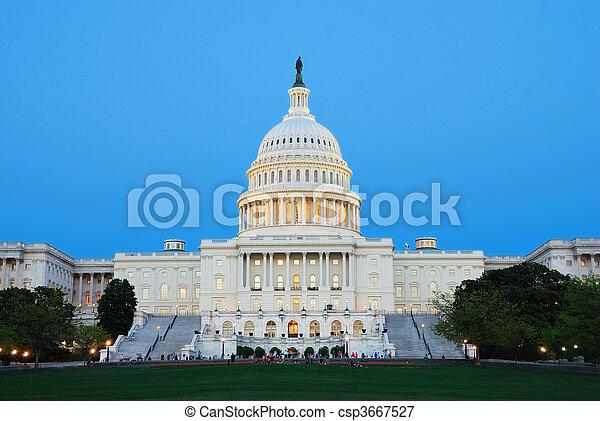 dc., capitole, washington, nous - csp3667527