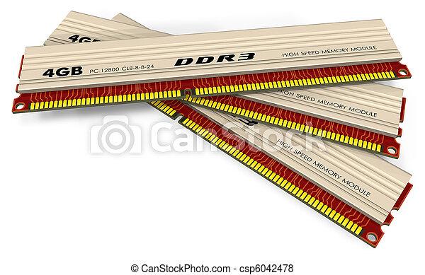 DDR3 memory modules - csp6042478